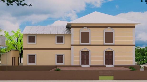 3D Blueprint of YSE Vocational School