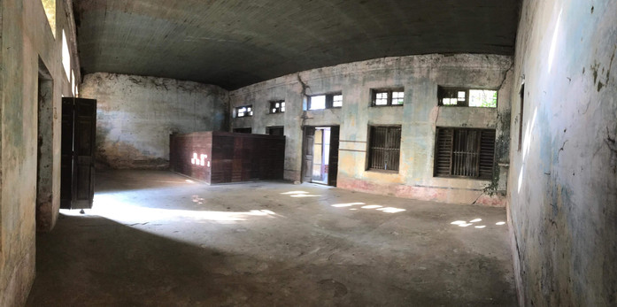 Building under resconstruction for YSE Vocational School