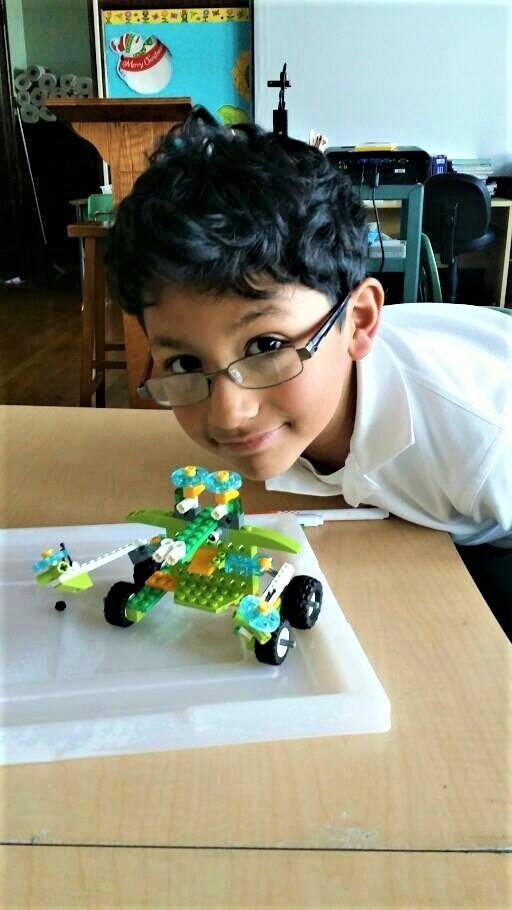 Lego Robot Building