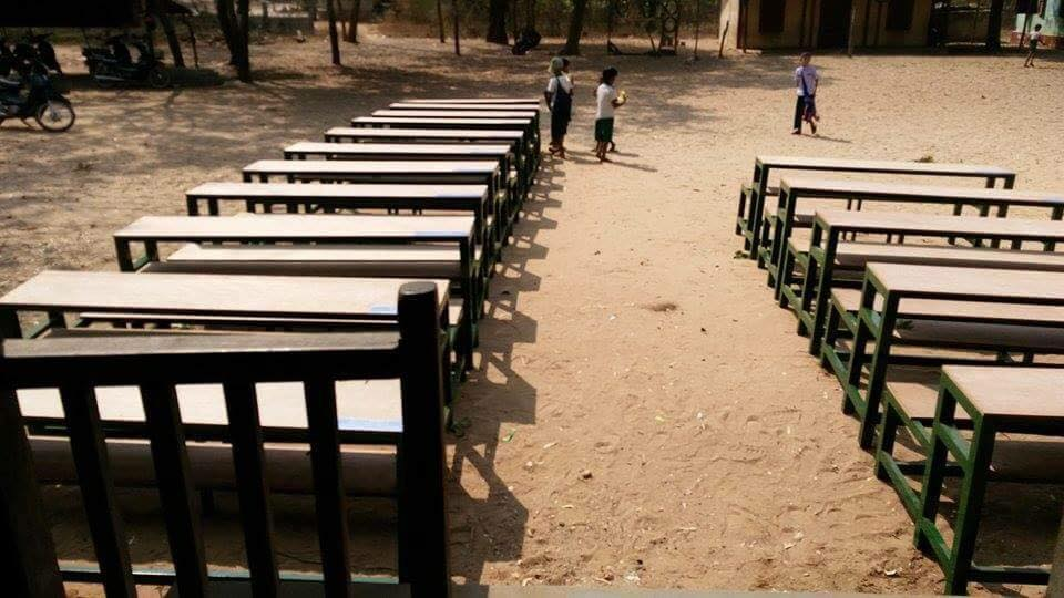 School Benches Donation 1