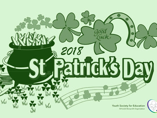 Happy Saint Patrick's Day! :)