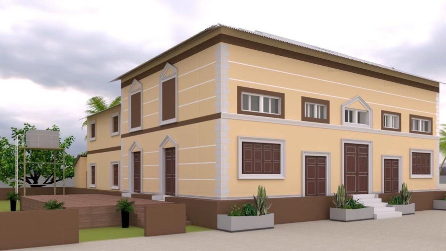 3D Blueprint of YSE Vocational School