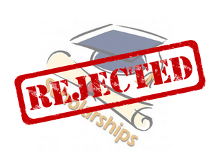 How to move on if your scholarship application is rejected