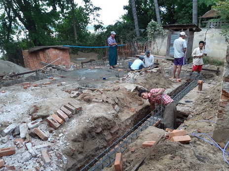 YSE Vocational School Reconstruction Site