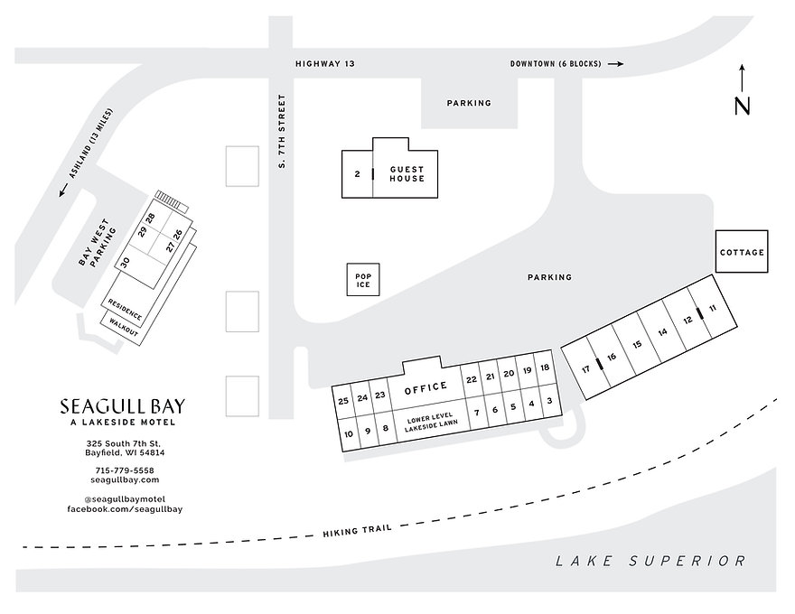 Seagull Bay Map