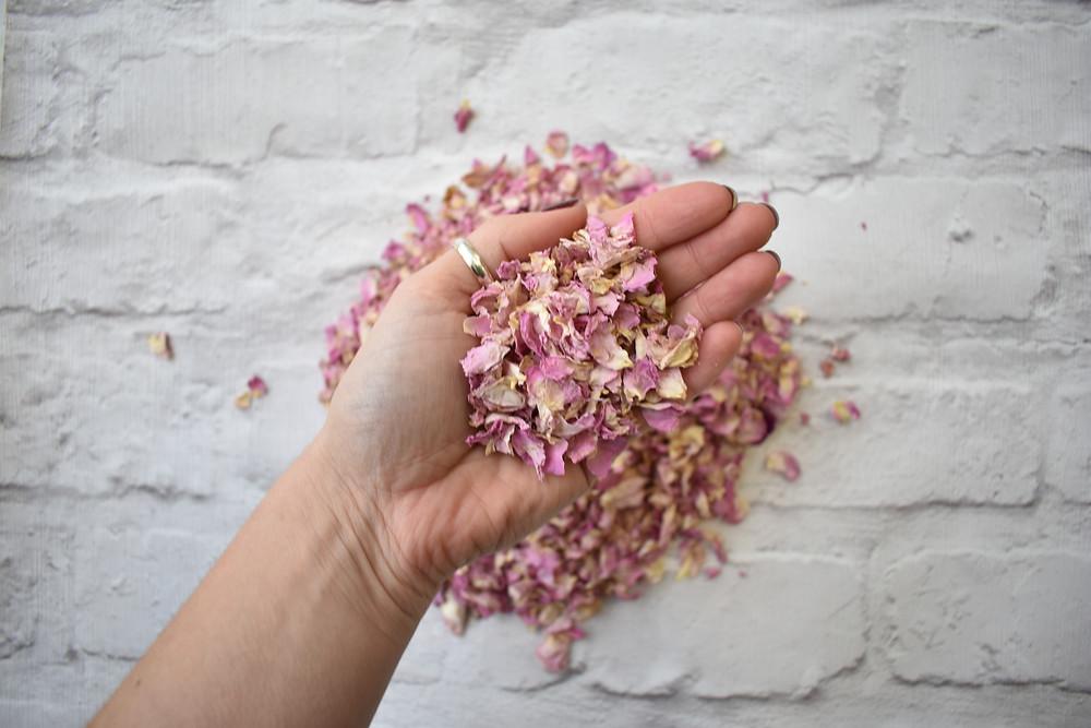 Rose Petal Confetti | Biodegradable Confetti | Pink Confetti