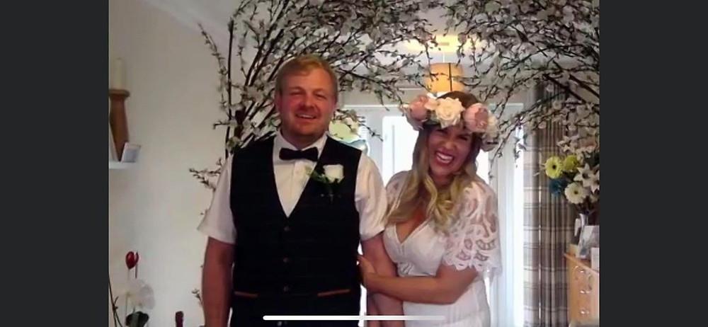 Plugged in wedding | zoom wedding | Virtual Wedding