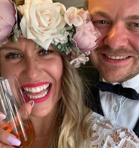 A Plugged In Wedding - Lucy & Martin Celebrated their Lockdown Wedding in Style