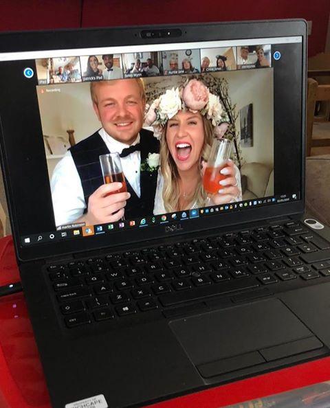 Plugged in wedding | Corona wedding | Virtual Wedding