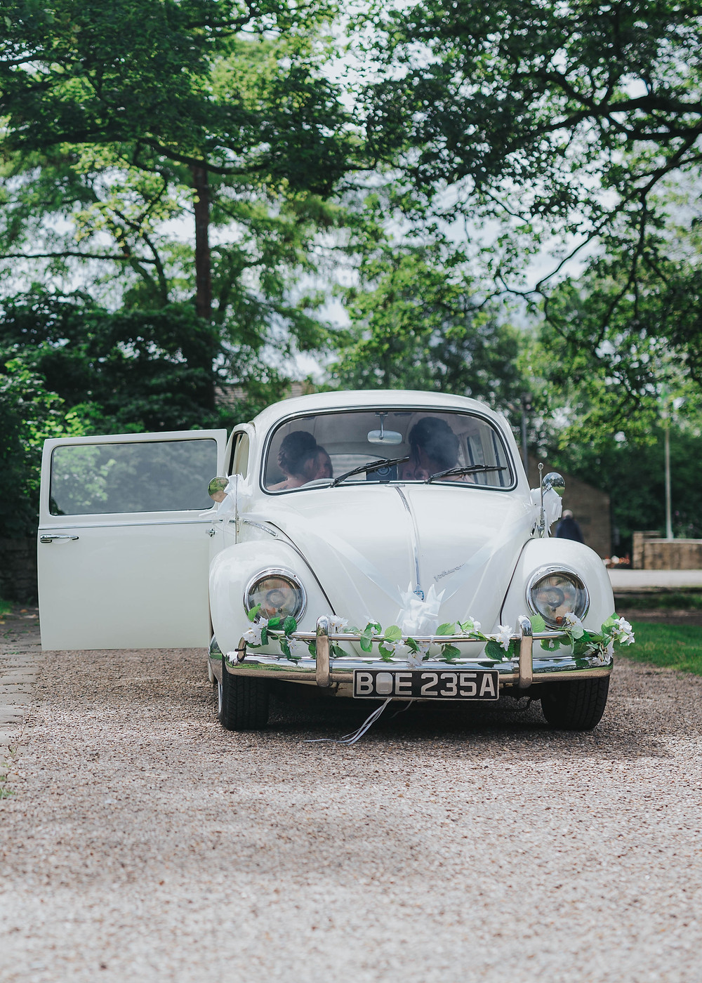 Biodegradable Confetti | Just Married | Wedding Car