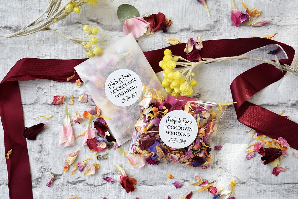 Confetti | Virtual Wedding | Confetti Packets