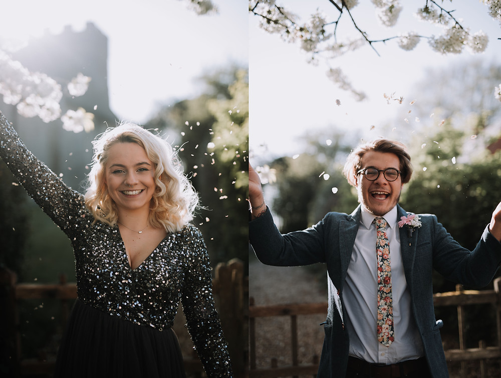 Confetti | Wedding photography bedford | Virtual wedding