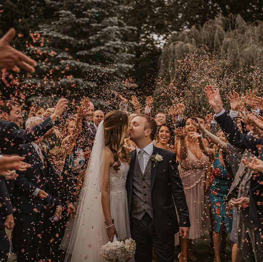 Have your CONFETTI moment at your Plugged In Wedding