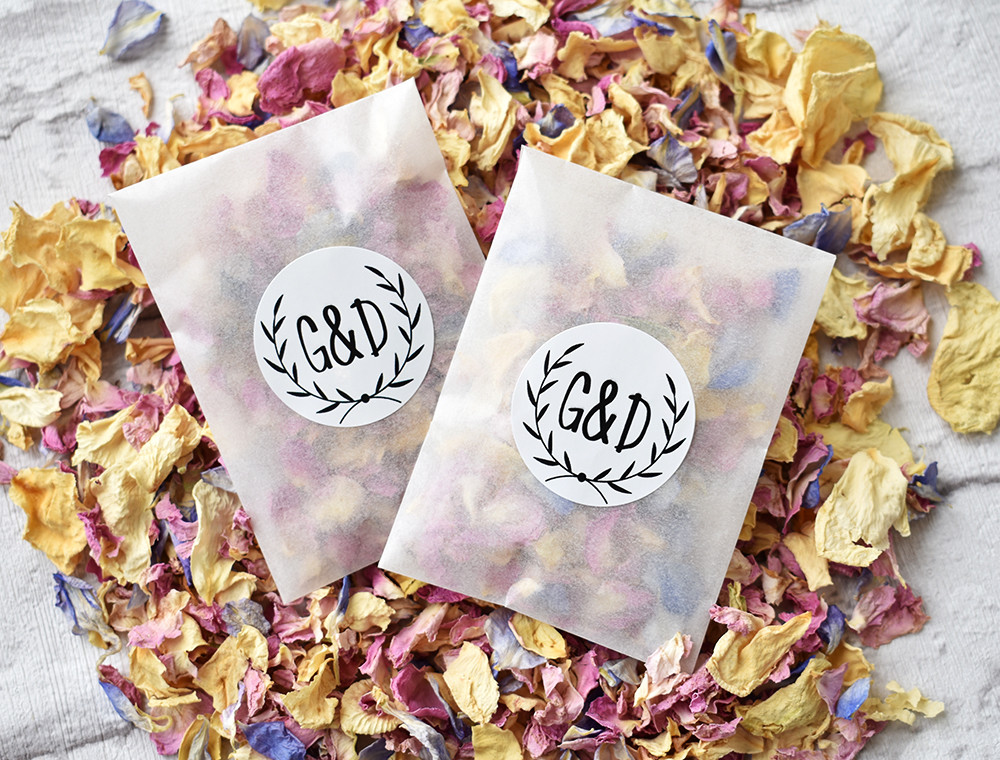 Biodegradable Confetti | Real Petal Confetti | Biodegradable Confetti Packets