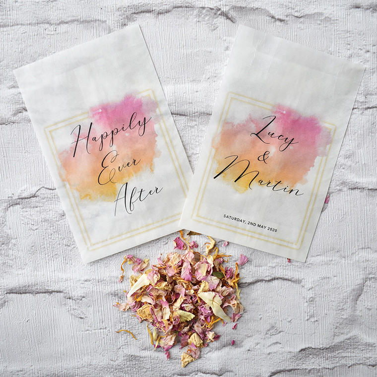 Biodegradable confetti | Confetti packets | eco friendly confetti