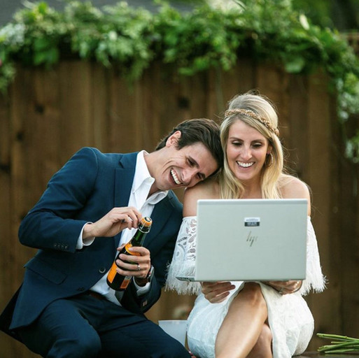 LOVE WINS! Have the best virtual wedding day ever!