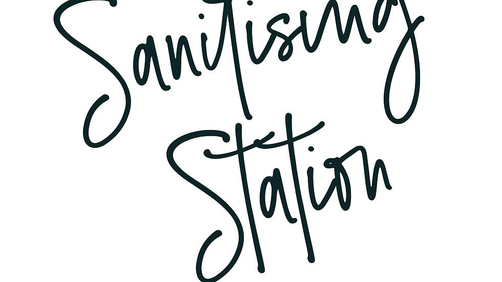 Sanitising Station| Wash your hands sign | Wedding Printables