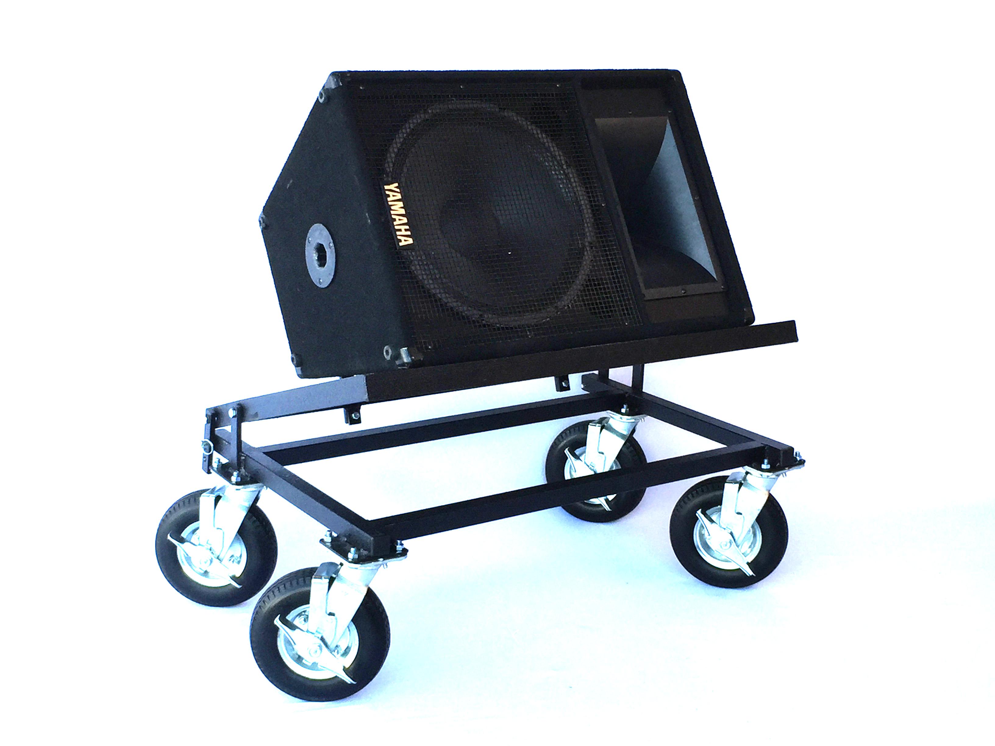 Tilting Speaker Cart
