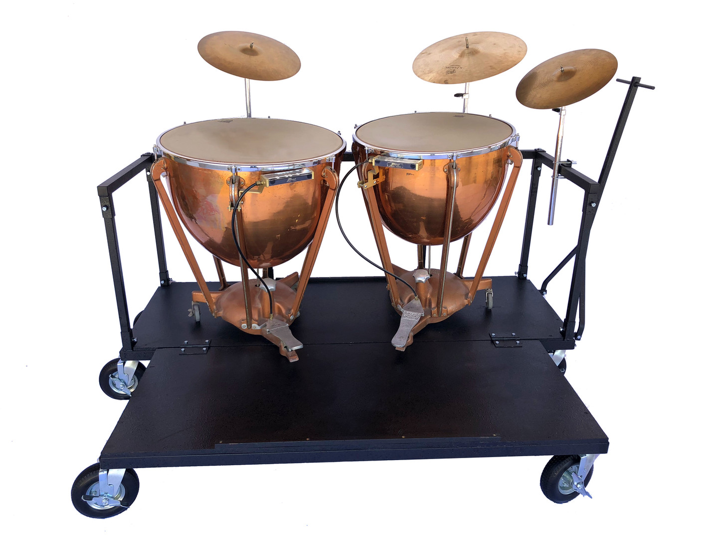 Drum Stand Cart with Timpani