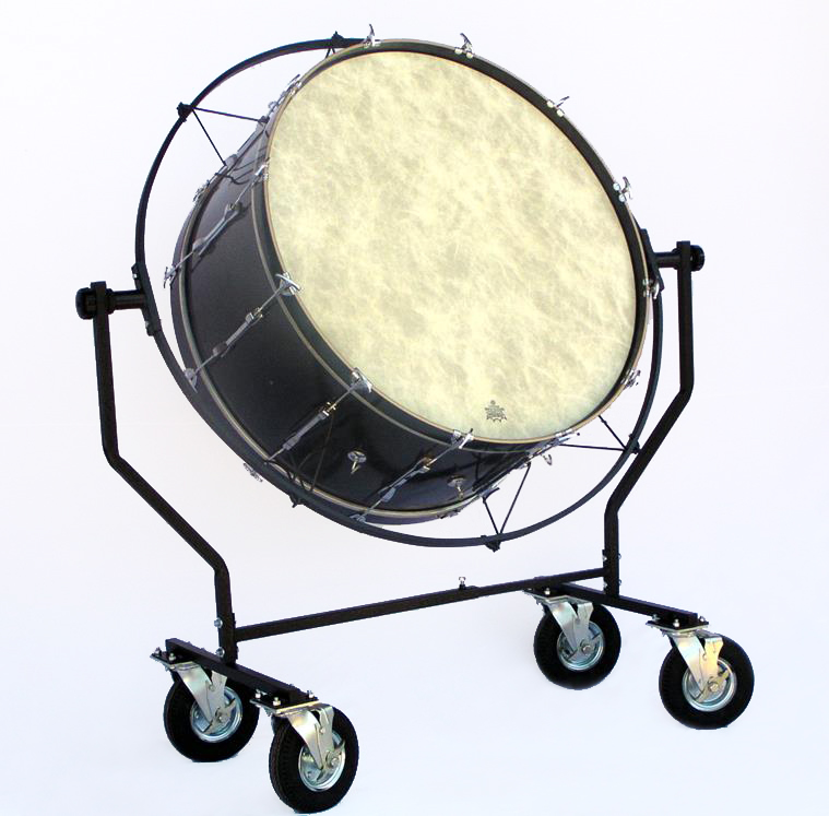 All Terrain Suspended Bass Drum Cart