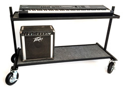 All Terrain Electronic Keyboard Cart