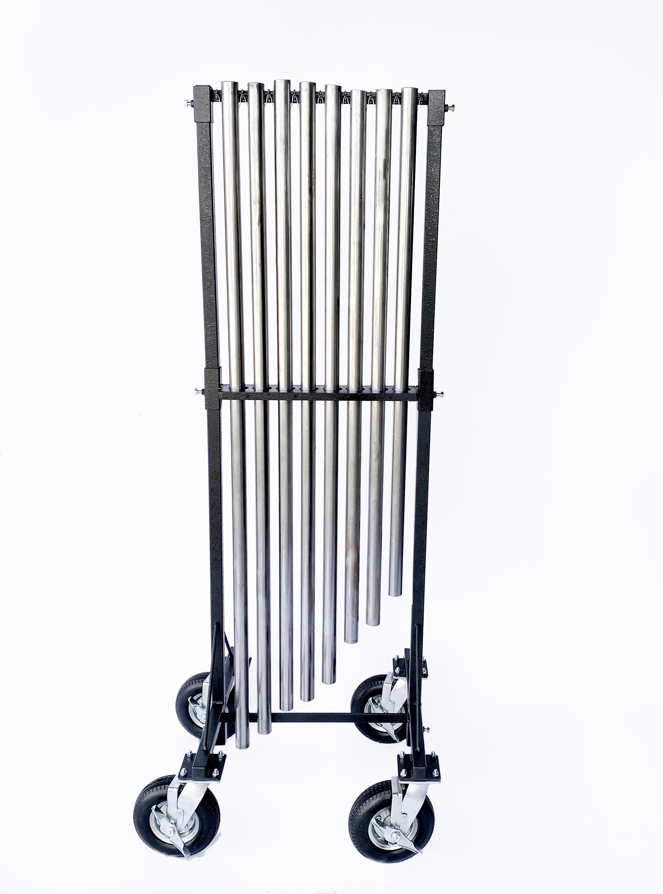 All Terrain Portable Chime Cart