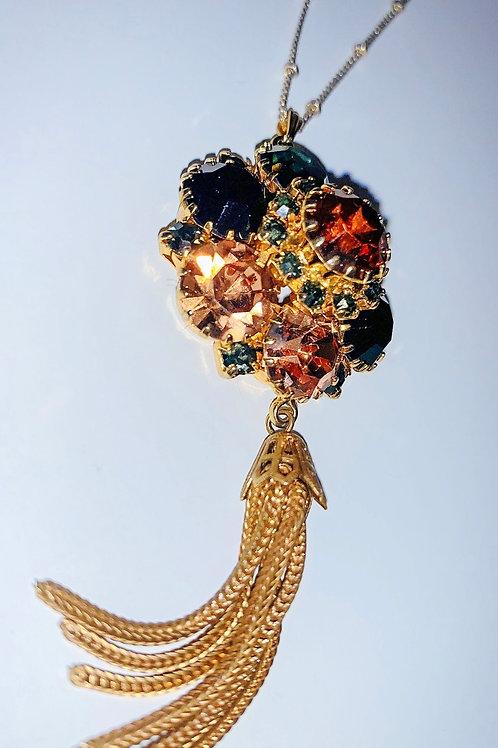 Ornate Stone Zmanka Necklace