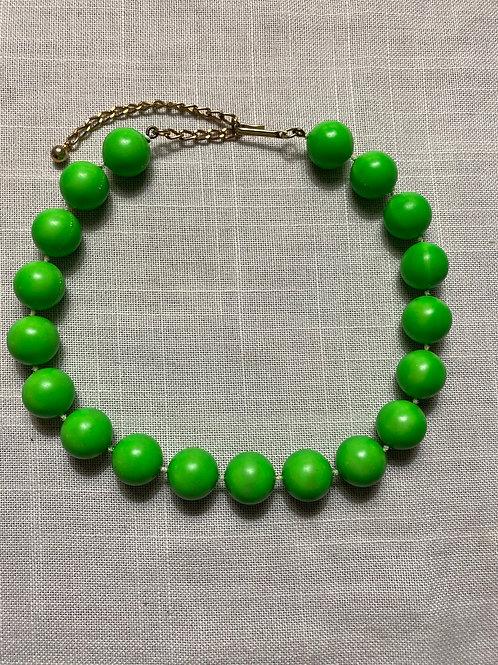 Green Beaded Choker