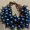 Thumbnail: Blue Beaded Bracelet