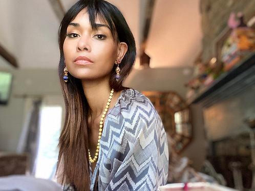 Stunning Asian Clip On Earrings