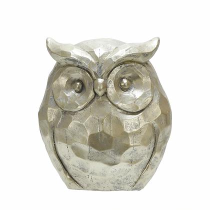 "14"" Owl Figurine Gold"