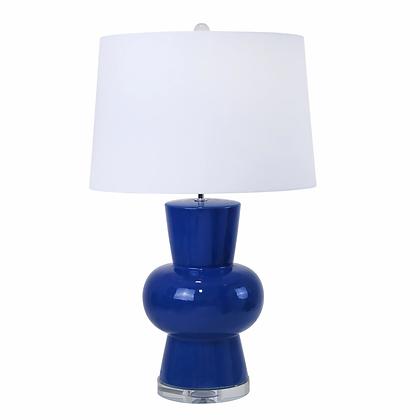 "Ceramic 28"" Single Gourd Table Lamp"