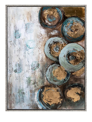 Mika Framed Oil Painting