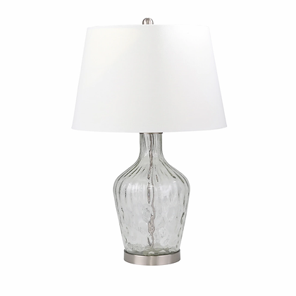 "29"" Jar Table Lamp Clear"