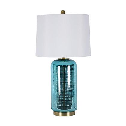 """29"""" Jug Table Lamp Blue"""