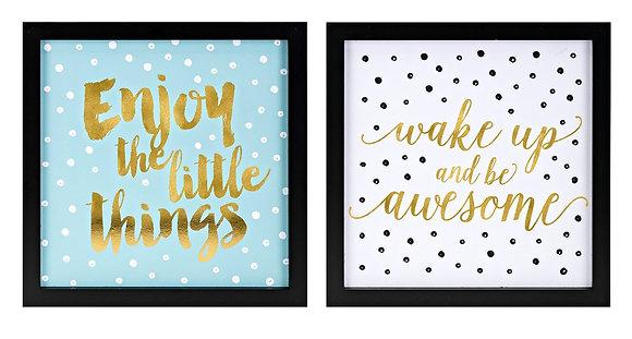 Positive Dots Prints - Set of 2