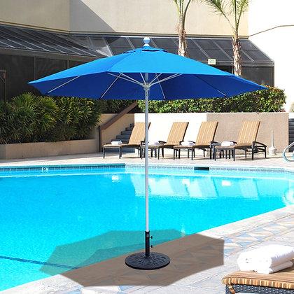 9' Fiberglass w. Aluminium Pole Umbrella