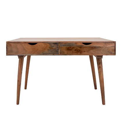 """30"""" Wooden Writing Desk w. 2 Drawers"""