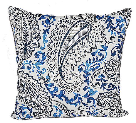 Outdoor Cobalt Shannan Throw Cushion