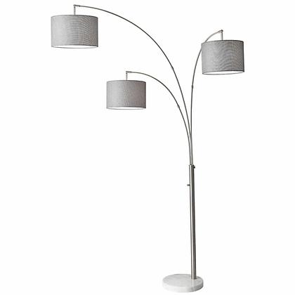 "82"" Three Arm Arc Floor Lamp"