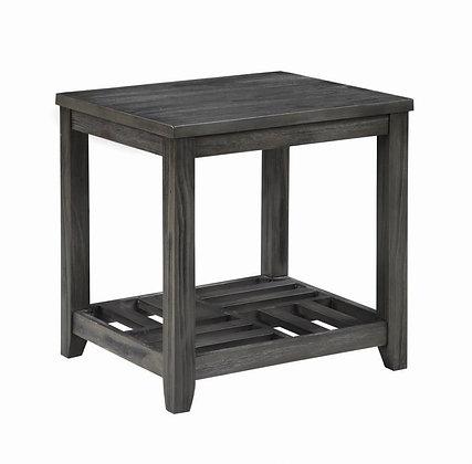 Savona End Table Grey
