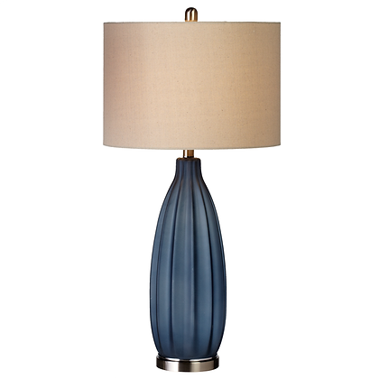 Blue Frost Table Lamp
