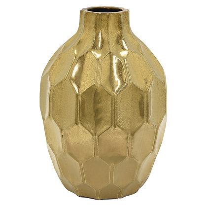 Ceramic Vase Gold