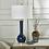 "Thumbnail: Ceramic 32"" Skinny Table Lamp, Navy Blue"