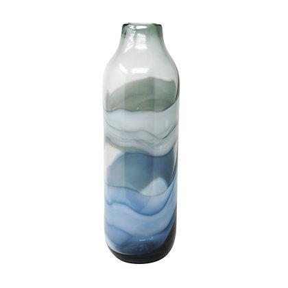 """Glass Vase 18"""" Multi"""