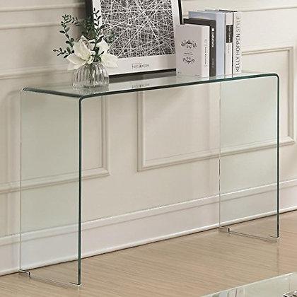 Clear Glass Sofa Table