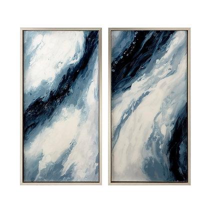 Cobert Framed Oil Painting