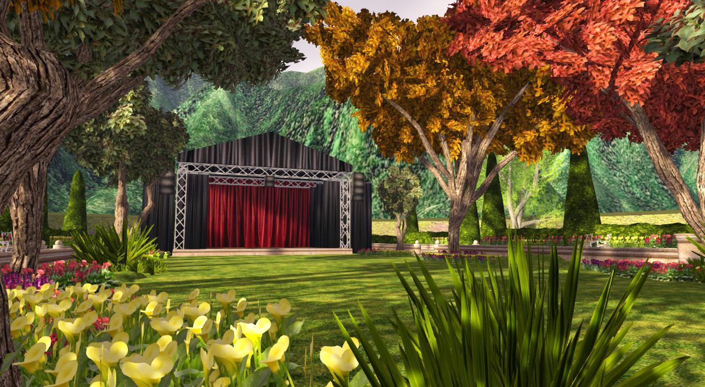 Outdoor Garden Venue Stage_003