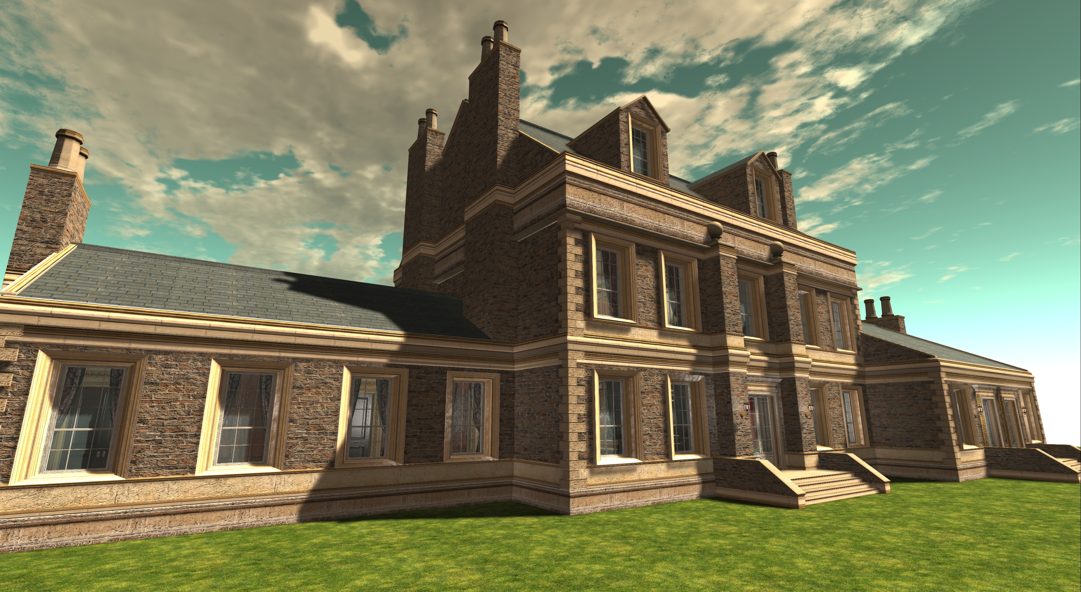 Dowager House External Textures_004