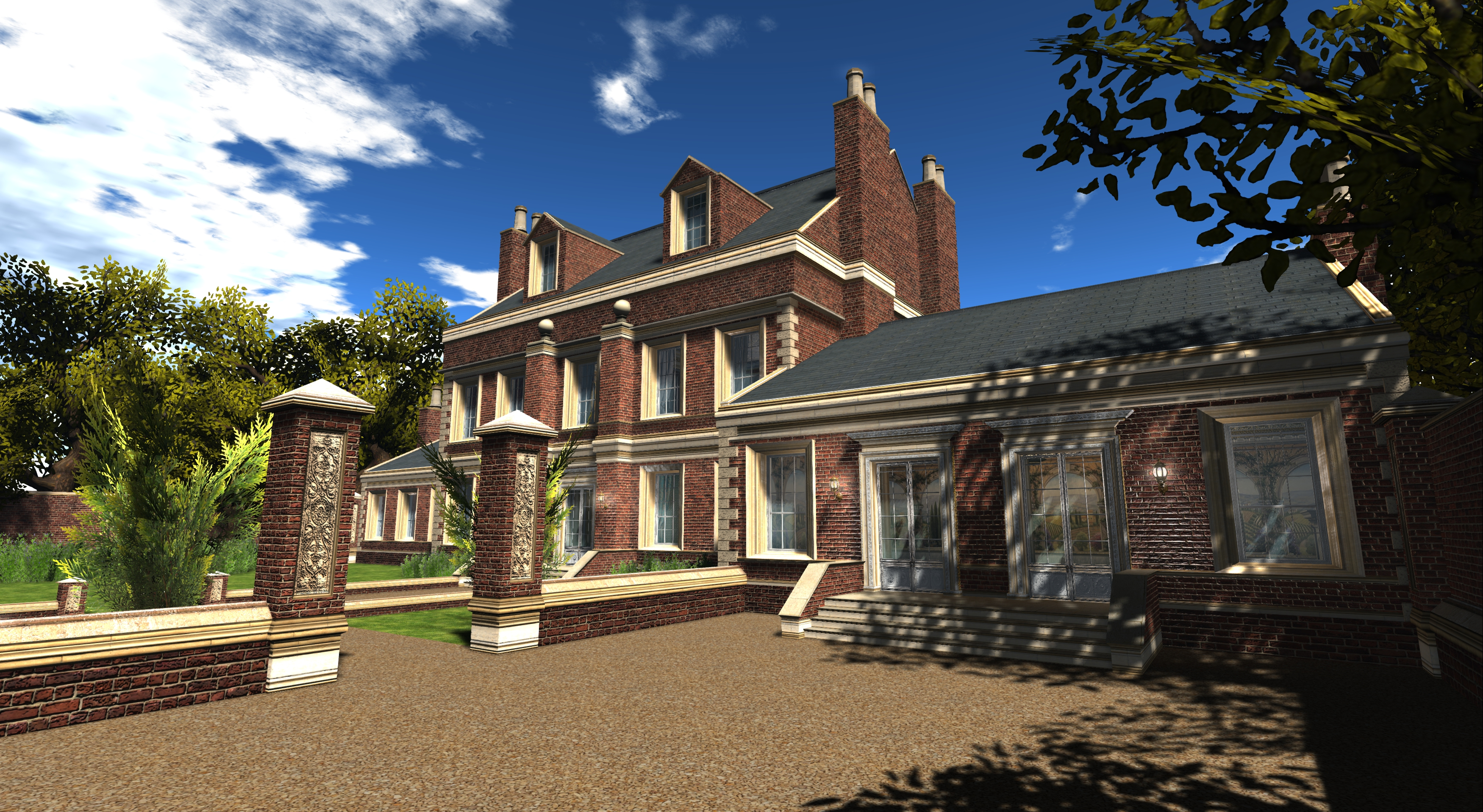 Dowager House External Textures_002